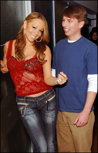 Jack Raves About Working With The Living Barbie Doll The Mariah